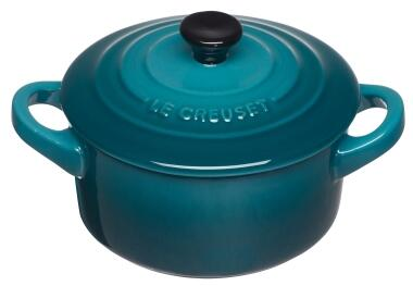 Le Creuset Mini Cocotte in deep teal