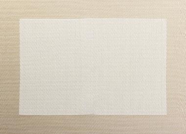 ASA Tischset in Weboptik, off white