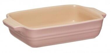 Le Creuset Auflaufform rechteckig in chiffon pink