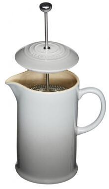 Le Creuset Kaffeebereiter in perlgrau