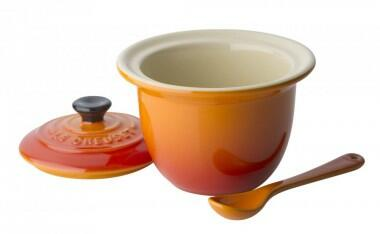 Le Creuset Serviertopf Mini in ofenrot