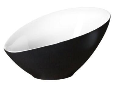 ASA asymmetrische Schale Vongole in schwarz