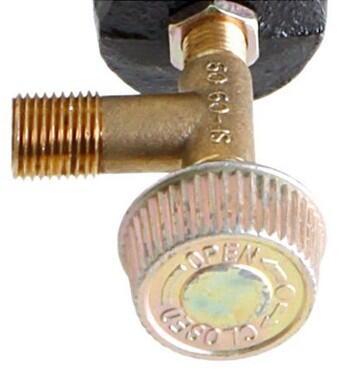Allgrill Basis-Ventil für Hockerkocher 3030/4040