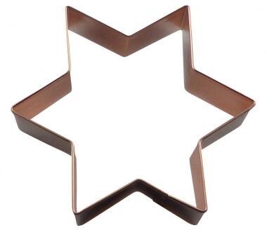 Ausstechform Stern aus der Kupfermanufaktur Weyersberg