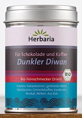 Herbaria Dunkler Diwan, für Schokolade und Kaffee