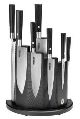 Böker Küchenmesserset Damast Black Damast Black, 8-teilig