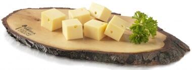 Boska Käsebrett S aus Baumrinde