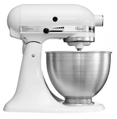 KitchenAid Küchenmaschine Classic in weiß, 4,3 Liter
