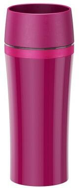 Emsa Isolier-Trinkbecher Travel Mug Fun in himbeer/rosa
