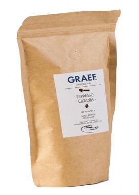 Graef Espressokaffee Cantania (100% Arabica), 500g