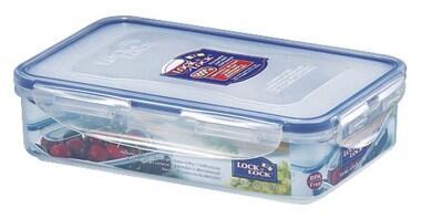 Lock & Lock Frischhaltebox rechteckig, flach 800 ml