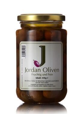 Jordan Oliven, fruchtig und fein