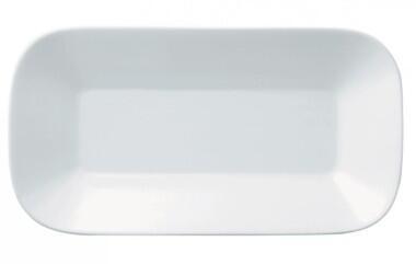 Kahla Cumulus Schälchen rechteckig 18 x 9 cm in weiß