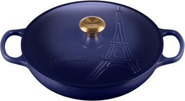 Le Creuset Gourmet-Profitopf Eiffelturm in indigo