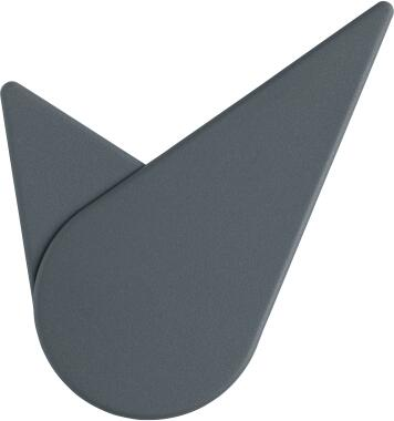 Stelton Wanduhr Birdie, dark grey