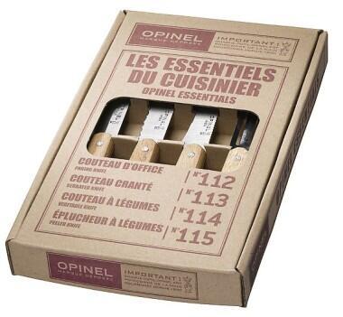 Opinel Küchenmesser-Set, 4-teilig