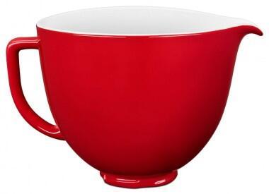 KitchenAid Keramikschüssel in rot, 4,7 L