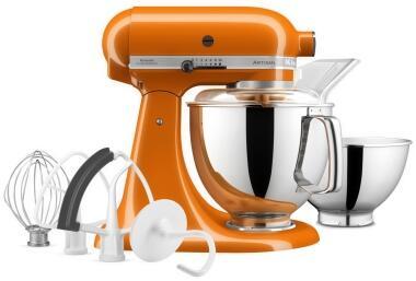 KitchenAid Küchenmaschine ARTISAN 175PS in honey, 4,8 L