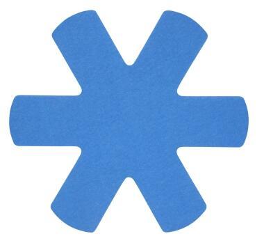 Papillon Pfannenschoner-Set in blau, 3er Set