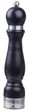 PEUGEOT Salzmühle Chateauneuf in Buche schwarz mit justierbarem Mahlgrad