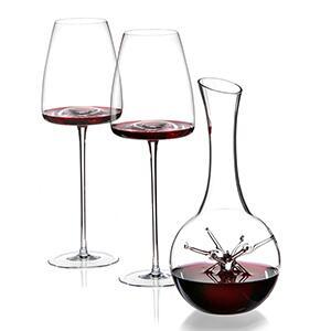 Zieher Geschenkset 2 Weingläser und Dekanter
