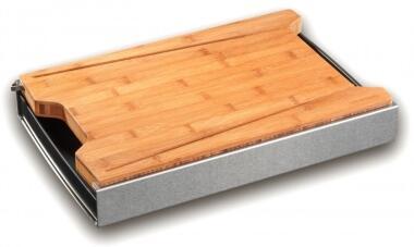 Schneidbox mit Bambus-Brett