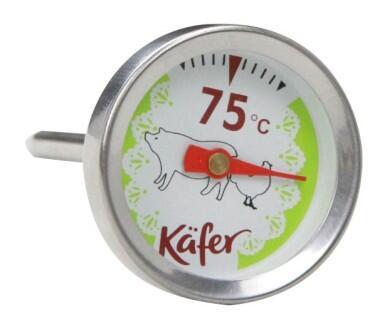 Käfer Analoges Grill- und Fleischthermometer T419S