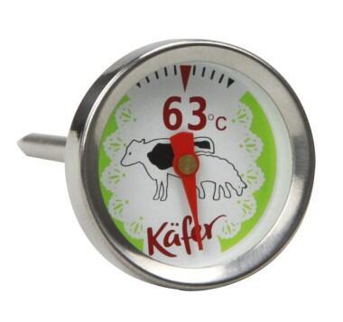 Käfer Analoges Grill- und Fleischthermometer für Rind/Lamm T419S