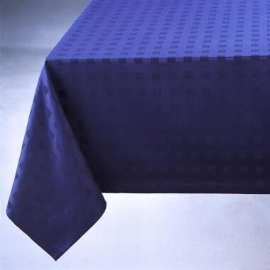 Schlitzer Leinen Tischdecke Milano blau