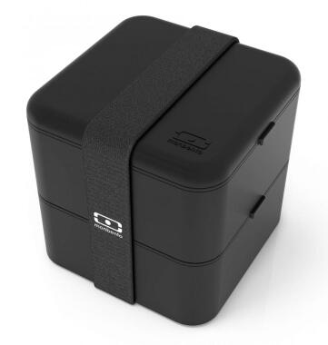 Monbento MB Square Bento-Box in schwarz