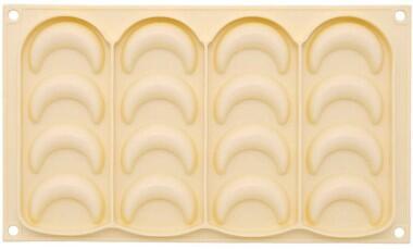 Birkmann Kipferl Formen aus Silikon, 2-er Set