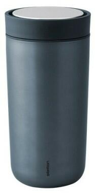 Stelton Isolierbecher To Go Click, dark blue, metallic