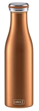 Lurch Isolierflasche in bronze-metallic, doppelwandig