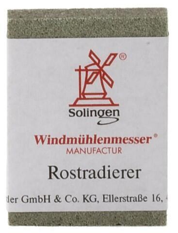 Windmühlenmesser Rostradierer