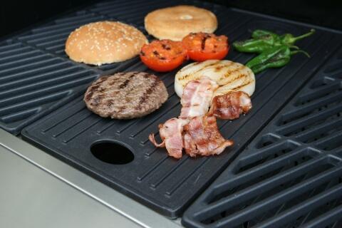 Outdoorchef DGS Grillplatte für die Dualchef-Grills