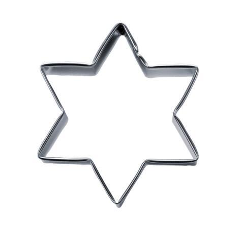 Städter Ausstechform Stern 5 cm / H 2,5 cm 6-zackig