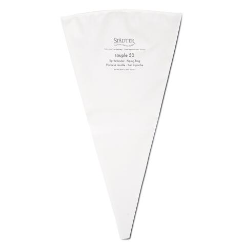Städter Spritzbeutel Profi-Spritzbeutel 50 cm Weiß souple 50