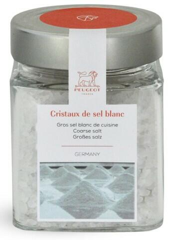 PEUGEOT Weißes Kristallsalz Sel blanc, 370g