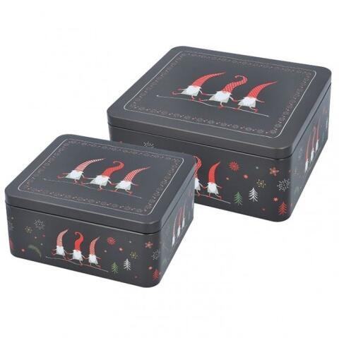 Birkmann Gebäckdosen-Set Weihnachtswichtel (klein)