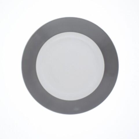 Kahla Pronto Brunch-Teller flach 23 cm in grau