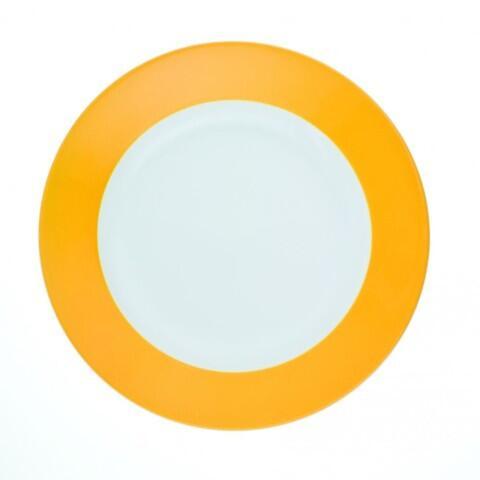 Kahla Pronto Frühstücksteller 20,5 cm in orange-gelb