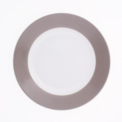 Kahla Pronto Frühstücksteller 20,5 cm in taupe