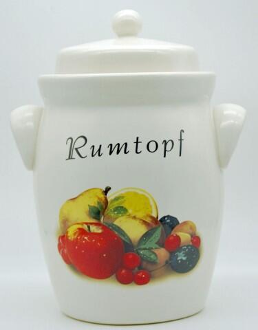 Schmitt Rumtopf mit Obstmotiv