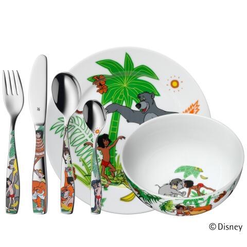 WMF Kindergeschirr-Set Dschungelbuch, 6-teilig