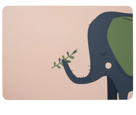 ASA Tischset Kids Emma Elefant
