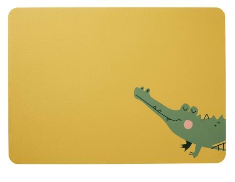 ASA Tischset Kids Croco Krokodil
