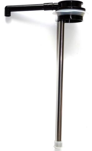 alfi Steigrohr mit Auslaufhahn, Dichtring und Glasschutzgummi für Pumpkanne 2,5 l