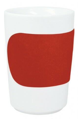 Kahla Five Senses Maxi-Becher 0,35 l in touch! rot