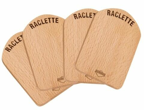 Küchenprofi Raclette Brettchen 4er Set
