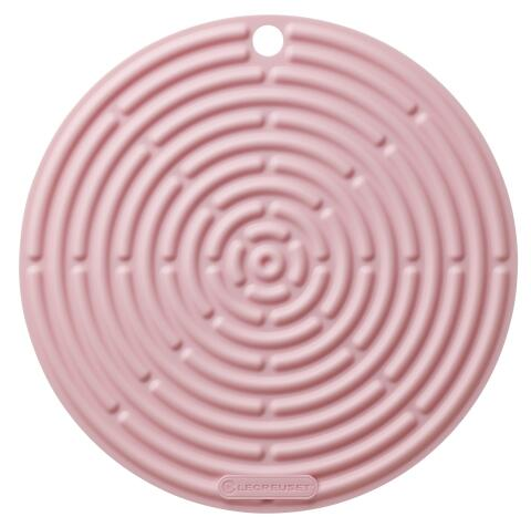 Le Creuset Topflappen rund in shell pink